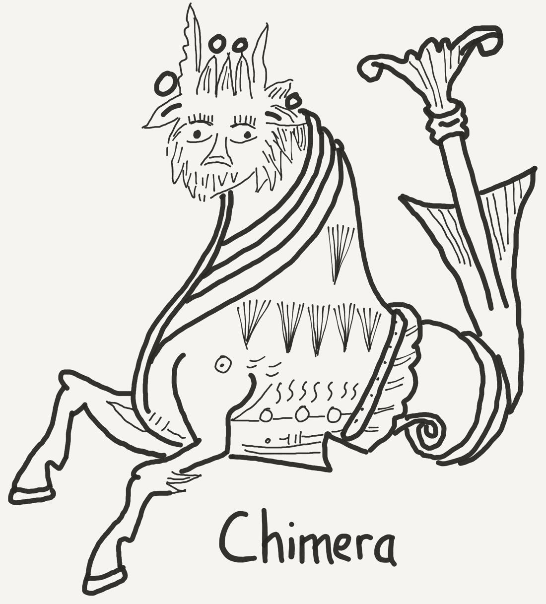 Chimera Drawing